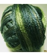 Green Pastures (0526) Silk Floss 100% silk 23yd... - $5.50