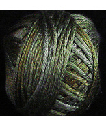 Green Black (H211) Silk Floss 100% silk 23yd ball cross stitch Valdani  - $5.50