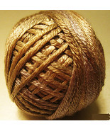 Dark Antique Golds (0154) Silk Floss 100% silk 23yd ball cross stitch Va... - $5.50