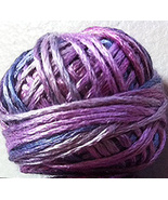 Blue Amethyst (S060) Silk Floss 100% silk 23yd ball cross stitch Valdani  - $5.50