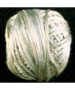 Aged White Light (P004) Silk Floss 100% silk 23... - $5.50