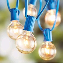 Better Homes and Gardens 20 CT String Lights Clear Glass Globe Outdoor I... - $23.74
