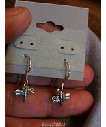 Mini Dragon Fly Dangle Drop PETITE Earrings  92... - $12.99