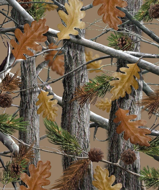 Tree Camo Woods Camouflage Huntsman Luxury Queen Sherpa