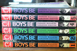 BOYS BE ITABASHI MASAHIRO VOL 1, 2, 3, 4, 5, 6 MANGA GRAPHIC NOVEL - $29.35