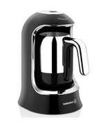 Korkmaz A860-07 Coffee Machine Automatic Coffee Machine - Black / Chrome - $86.17