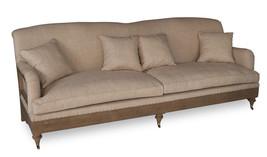 Fabulous Chic French Provence Style Pine Wood  Large Sofa,101'' x 40'' x 38''h - $3,216.51