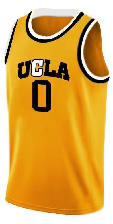 Westbrook ucla college basketball jersey gold   11
