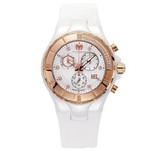 Brand New TechnoMarine Women's Cruise Ceramic Diamond Watch 110033 w/ Wa... - $1,583.99