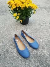 Hunter Boots original tour Blue flat Ballet Rain Shoes women's Size 7 US $95 - $57.42
