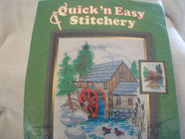 Pine Valley Mill Crewel Embroidery Kit: Comes with Yarns, Fabric & Direc... - $20.00