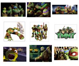 9 TMNT Stickers, Party Supplies, Teenage Mutant Ninja Turtles, Favors, L... - $3.49