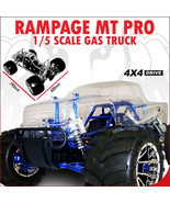 REDCAT RACING RAMPAGE MT PRO V3 1/5 SCALE GASOLINE MONSTER TRUCK NEW FRE... - $1,179.99