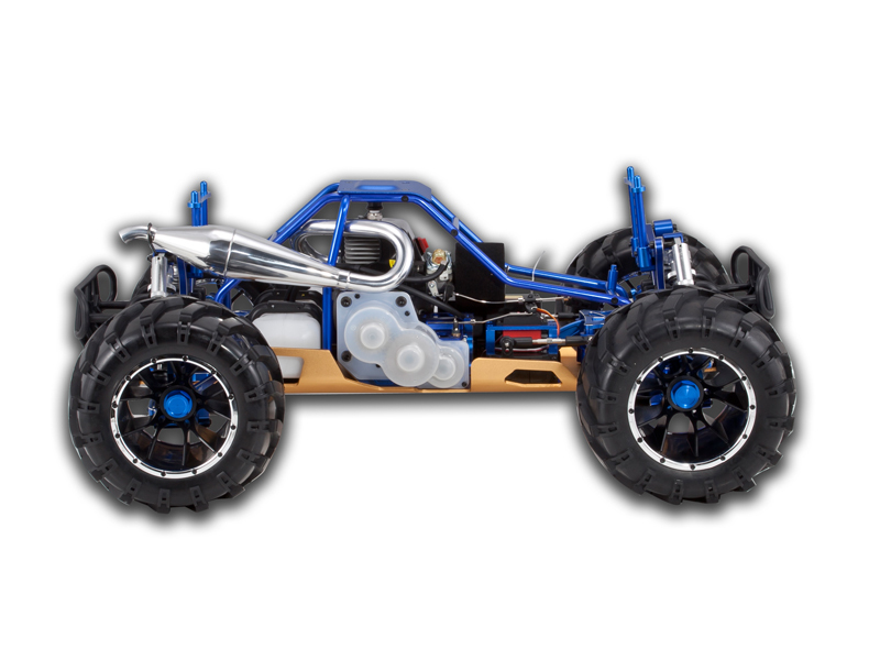 REDCAT RACING RAMPAGE MT PRO V3 1/5 SCALE GASOLINE MONSTER TRUCK NEW FREE SHIP