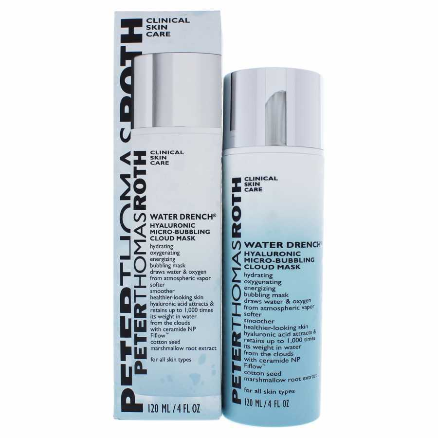 Primary image for Peter Thomas Roth Water Drench Hyaluronic Micro-Bubbling Cloud Mask 120ml / 4 oz