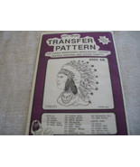 American Indian Hot Iron Transfer - $3.00
