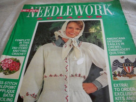 McCall's Needlework & Crafts Spring-Summer 1975 - $13.00