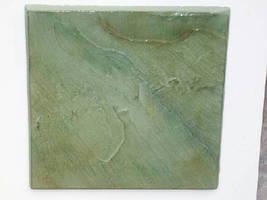 """Slate Texture Tile Molds (6) Make 100s 12"""" Dot Cut Concrete Floor Tile $0.30 EA image 5"""