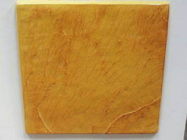 "Slate Texture Tile Molds (6) Make 100s 12"" Dot Cut Concrete Floor Tile $0.30 EA image 6"
