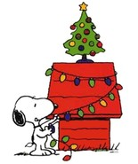 Snoopy Christmas Cross Stitch Pattern***LOOK*** - $4.95