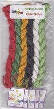 SILK FLOSS PACK for Golden Quince cross stitch chart Dinky Dyes - $21.60