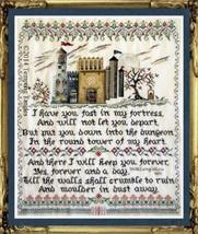 Longfellow's Round Tower cross stitch chart Tempting Tangles - $20.70