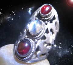 HAUNTED ANTIQUE RING 7 OF THE MOST POWERFUL MASTER RITUALS XTREME SECRET MAGICK - $8,707.77