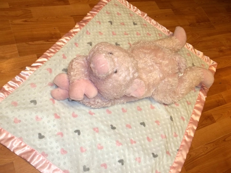 Toys Kids Giant Pink Pig Floor TOY Pillow Stuffed Animal Toy room - Other