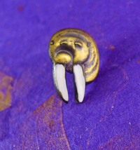 Vintage WALRUS Tie Tack with Butterfly Clutch USS K-4 Submarine Insignia... - $65.00