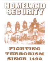 Homeland Security1492 Vintage 11X14 Sepia Native American Memorabilia Photo - $9.95
