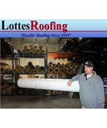 10' x 20' 60 MIL WHITE EPDM RUBBER ROOFING BY THE LOTTES COMPANIES - $356.40