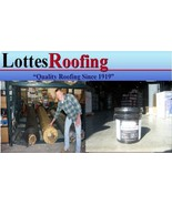 10' x 25' BLACK 60 MIL EPDM RUBBER ROOF W/ADHESIVE BY THE LOTTES COMPANIES - $343.39