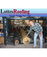 10' x 25' BLACK 45 MIL EPDM RUBBER  ROOF ROOFING BY LOTTES COMPANIES - $247.50