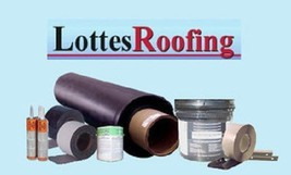10/' x 17/' 60 MIL WHITE EPDM RUBBER ROOFING BY THE LOTTES COMPANIES