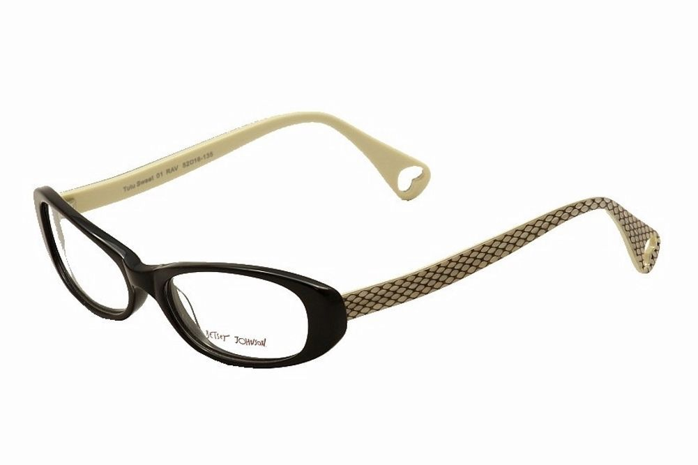 1ec75a74d96 Betsey Johnson Tutu Sweet Eyeglasses Eyewear Optical Frame BJ 013 01 -   75.00