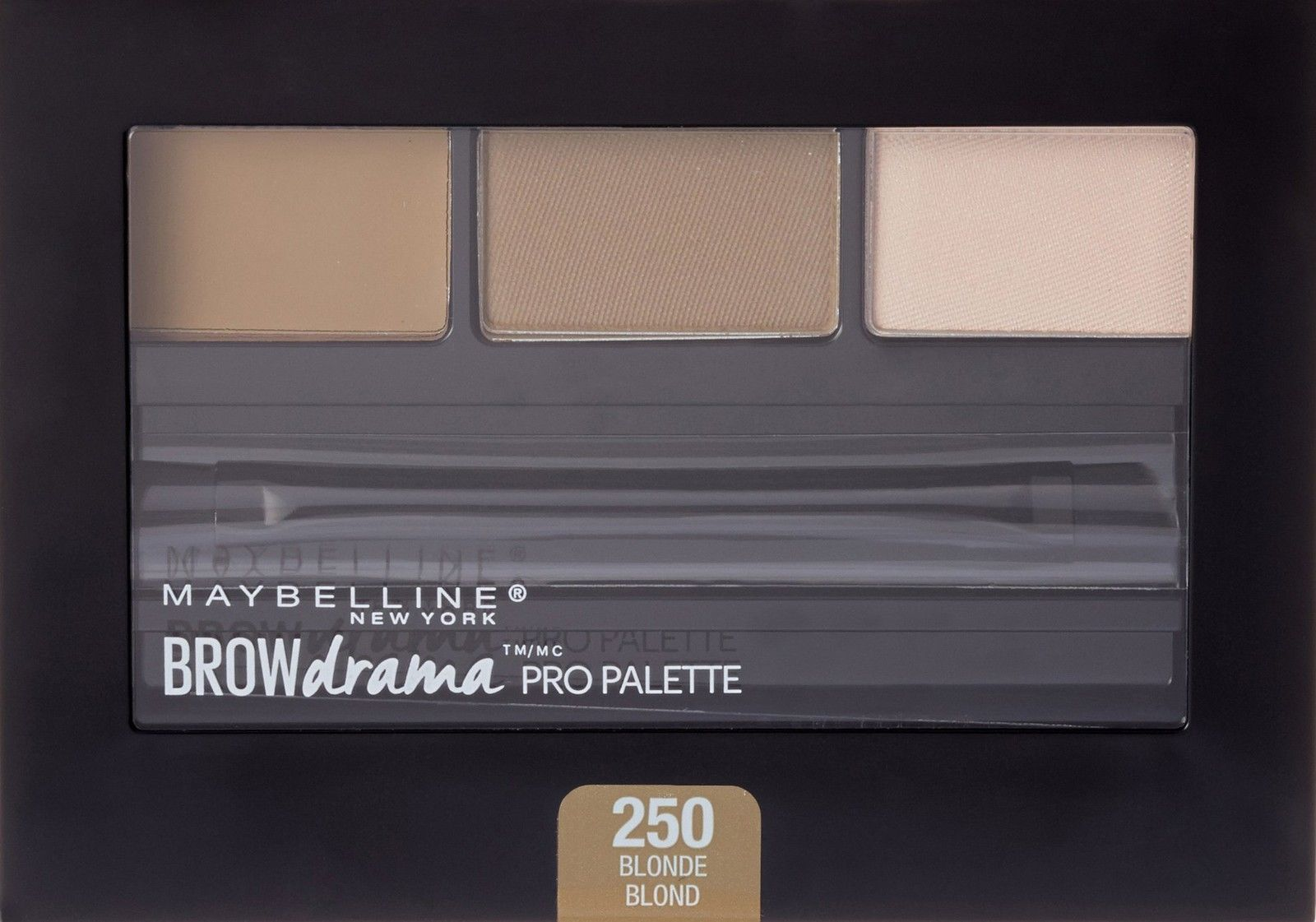 Maybelline New York Brow Drama Pro Eye Makeup Palette, Blonde, 0.1 Ounce