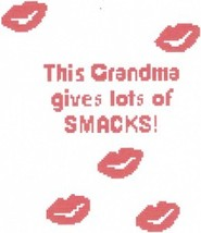 Grandma Smacks Color Graph Afghan Pattern - $5.00