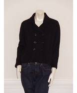 DIANE von FURSTENBERG  JUNE LEE BLACK CARDIGAN - US LARGE - $119.03