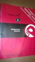 JOHN DEERE 4E BACKPACK BLOWER OPERATOR'S MANUAL OM-TY20751 B5 - $18.20