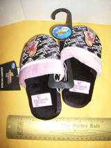 Disney Girl Clothes 9-10 Hannah Montana Slippers Black Small Foot Wear S... - $9.49