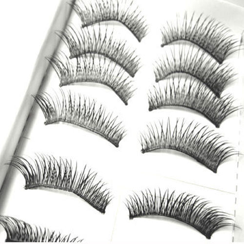 Primary image for LOT of 50 pairs Daily Normal Makeup False EyeLashes AAA