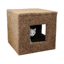 Pet Hiding Cube, New Cat Condos   Free Shipping In The United States - $115.95