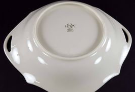 """LENOX China Holiday Dimension 8-1/4"""" Open Candy/Nut Dish Handled Bowl Dinnerware image 4"""