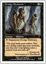 Magic The Gathering-Seventh Edition-Drudge Skeletons - $0.05