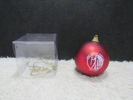 John Umstead Hospital 1947-2007, Glass Bulb Christmas Tree Ornament - $8.95