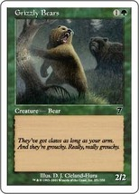 Magic The Gathering-Seventh Edition-Grizzly Bears - $0.05