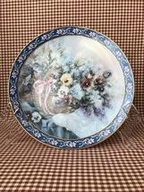 "Lena Liu's Basket Bouquets Collection, Bradford Exchange ~ W.S.George, ""... - $20.00"