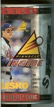 1997 pinnacle inside the can baseball cards promo sample can ryan klesko... - $19.99