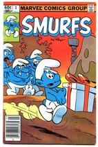 Smurfs #3 1982- Marvel Comics FN - $14.90