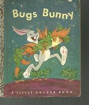 Bugs Bunny Little Golden Book Al Dempster 8th Print - $9.02